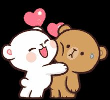 Cute Cartoon Images, Cute Love Cartoons, Cute Cartoon Wallpapers, Kiss Animated Gif, Hug Gif, Love You Gif, Cute Love Gif, Cuddling Gif, Gif Bonito