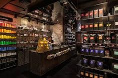 tea store design by Landini Associates, London UK coffee tea Tienda Natural, Brew Bar, Retail Interior Design, Tea Brands, Smoke Shops, Higher Design, Architectural Digest, Store Design, Architecture Design
