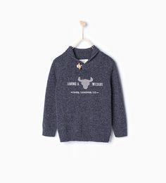 ZARA - BØRN - Sweater Wildlife