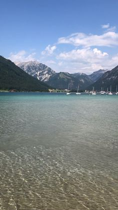 Achensee in Tyrol- Achensee in Tirol Achensee in Tyrol - Vacation Ideas, Family Vacation Spots, Vacation Outfits, Cool Places To Visit, Places To Travel, Travel Destinations, Famous Beaches, Historical Monuments, Countries To Visit
