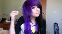 Lilac Hair, Pastel Hair, Green Hair, Blue Hair, White Hair, Cute Scene Girls, Red Scene Hair, Hair Colour Design, Long Gray Hair