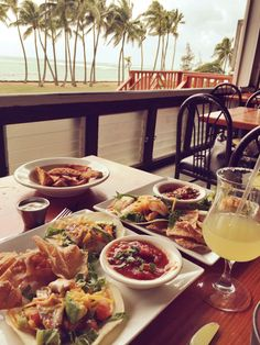 Located in bustling Kapa'a, charming Beachwalk Restaurant and Grill offers a laid-back atmosphere, open air ocean views, and $5 (almost) all day margaritas and mai-tais.