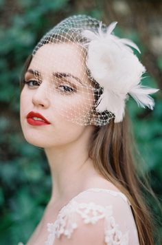 Madelaine Cage Veil - Enchanted Atelier by Liv Hart
