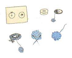 Pompón de lana: Crear vuestros propios pompones de lana. http://www.juntines.com/?idPlan=225