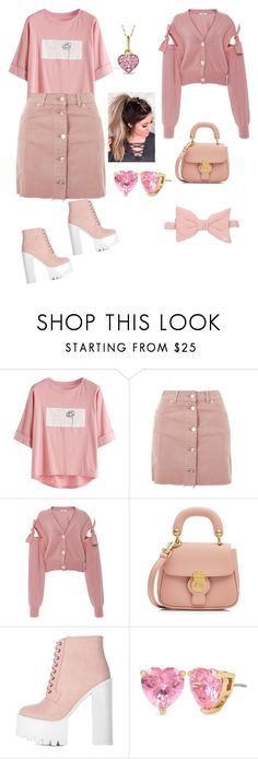 """Untitled #692"" by ericap61720 ❤ liked on Polyvore featuring Topshop, Adeam, Burberry, Betsey Johnson, Zales and Wildfox"