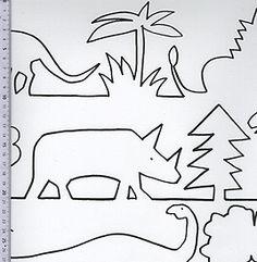 Tapet Dino från Sandberg