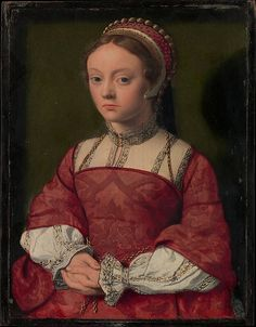 Portrait of a Young Woman - Netherlandish Painter  (ca. 1535)