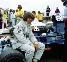 Francois Cevert, sometime, somewhere.