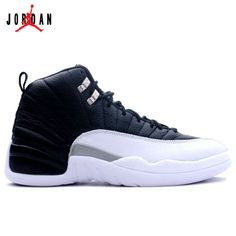 timeless design 9273c 18116 130690-001 Air Jordan Retro 12 (XII) Playoffs Black Varsity Red White A12001