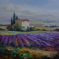 Wundervolle Gemälde der Provence von Ute Herrmann