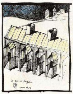 Un'architettura schizzata - Paperblog