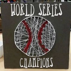 We don't know about you but we craft when we are stressed! Who is going to win the #worldseries? The @cubs or the @indians? #baseball #chicagocubs #clevelandindians #cubs #indians #diy #pinterest #pinspirationaz
