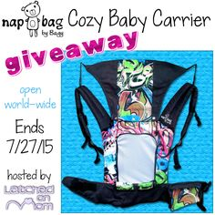 Nap Bag by Bagy Cozy Baby Carrier #giveaway