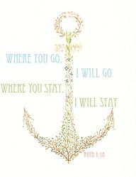 Anchor tree and awesome bible verse LOVE