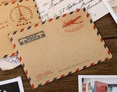 Mini Envelope  Via Aerea 10 Envelopes by pikwahchan on Etsy, $1.80