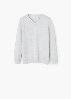 Essential cotton-blend sweater | MANGO KIDS