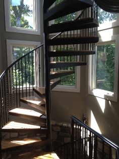 Charming Three Story Spiral Staircase   Google Search