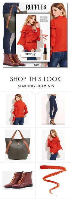 Fall Beauty: Orange Crush by svijetlana on Polyvore featuring moda, Bobbi Brown Cosmetics, Ellis Faas, orange, polyvoreeditorial and shein