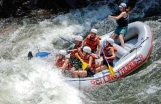 White water rafting! Oh the memories... It has been sooo long since I have done this.  I am a Big chicken NOW!!!
