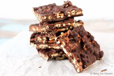 Easy to make salted caramel pretzel bark that is the perfect decadent treat or gift for Christmas. This stuff is just incredible - sweet, salty, perfect.