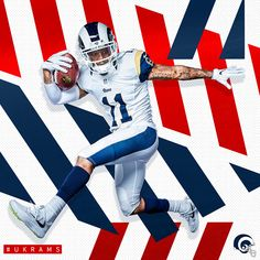 UK design influence for social/digital takeover for week of Rams game in London Sports Graphic Design, Graphic Design Posters, Sport Design, Poster Design Inspiration, Layout Inspiration, Creative Photoshop, Keys Art, Sports Graphics, Sports Wallpapers