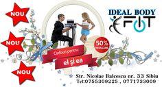 decembrie 50% ideal body sibiu