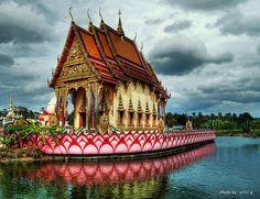 Wat Plai Laem, Koh Samui, Thailand #kohsamui #thailand #travel
