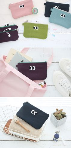 This cute SOM SOM Dual Zipper Pouch is ready to hold your daily or travel essentials! It's spacious enough to hold your passport and has 1 zipper pocket outside and 1 divider inside to help you better organize your items. You will also love the fact it's light and is water-resistant!