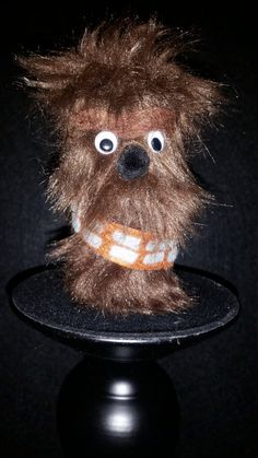 Star Wars Chewbacca Character Finger Puppet by TinyPaperCuts on Etsy