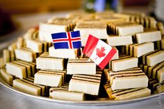 """Pronounced """"venur-dter'-ta"""", this Icelandic torte has been a holiday classic in the Peturson family for generations. It took me years to figure out how to record my Amma's (Grandma's) recipe in a m. Holiday Cakes, Christmas Desserts, Christmas Traditions, Christmas Recipes, Holiday Baking, Christmas Baking, Christmas 2019, Xmas, Icelandic Cuisine"""