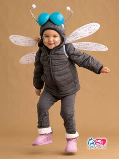 51 Kid Halloween costumes that are easy to make These costumes are faster than the lineup at the party store and easier than one of those fancy pumpkin-carving stencils. Deer Halloween Costumes, Scary Costumes, Easy Halloween, Costumes For Women, Halloween Party, Costumes Kids, Homemade Halloween, Bug Costume, Dinosaur Costume