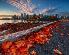 Stanley Park Seawall, Vancouver BC