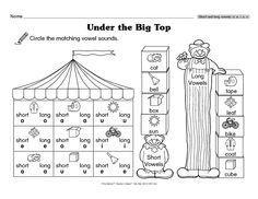 Teacher's Helper Kindergarten February/March 2015 - Under the Big TopThe Mailbox