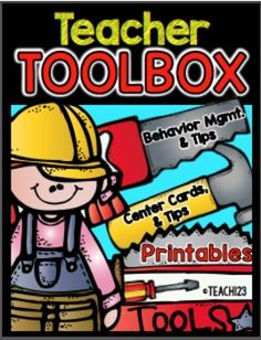 Behavior and Classroom Management: Teacher Toolbox: Forms to help busy teachers with classroom management and behavior issues. Great tools to use when you are documenting for RTI! #TPT $Paid