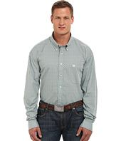 Cinch  Big & Tall Long Sleeve Plain Weave Plaid
