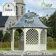 HSP Classic Lead Roof Gazebos - Oxborough Gazebo Bell Roof 3.0m | Birstall