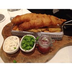 Fish and Chips at Heathcotes Brasserie