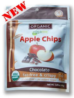 Apple Chips - Chocolate  $4.49 per bag  (Only sold in 6 pk)