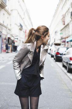 Veste col tailleur large ouverture Vestes Habillées, Paris Mode, Mode  Printemps Été, Tenue c54df3c4e8dd