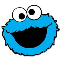 This is best Cookie Monster Clip Art Cookie Monster Clip Art Free Free Clipart Images for your project or presentation to use for personal or commersial. 2 Birthday, Monster Clipart, Monster Invitations, Cartoon Cookie, Monster Coloring Pages, Cookie Monster Party, Monster Face, Elmo Party, Sesame Street Birthday