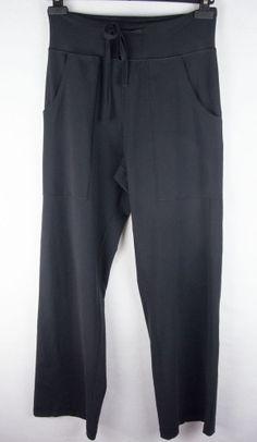 LULULEMON Mens Pants Sz S Black Stretch Straight Leg #Lululemon #Pants