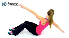 30 Minute Abs & HIIT Cardio Workout Video that burns 8-12 calories per minute and flattens the belly fast.