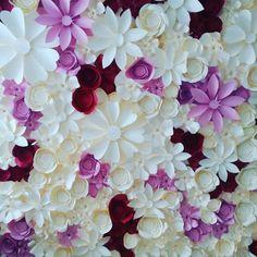 decoración con flores gigantes de papel12