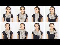 Comment porter une écharpe ou un foulard ? | missGworld