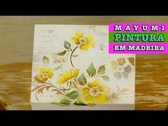 01/07/2014 - Mayumi (Pintura em madeira com estêncil) - YouTube