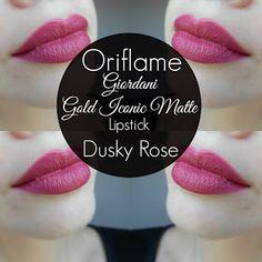 mela-e-cannella: Oriflame - Giordani Gold Iconic Matte Lipstick
