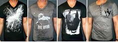 Fantastic shirts for a soon to be amazing movie! The Dark Knight Rises.