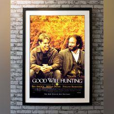Good Will Hunting (1997) - No / Anti-UV Perspex & Single Mount