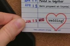 17 Of The Most Creative Wedding Invitations Ever - Due date card is neat idea for telling ppl when you're pregnant our shower invites too! Plan Your Wedding, Wedding Tips, Diy Wedding, Wedding Planning, Dream Wedding, Wedding Beauty, Creative Wedding Invitations, Wedding Invitation Cards, Wedding Cards