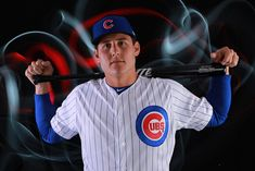 Anthony Rizzo Photos - Anthony Rizzo of the Chicago Cubs poses during Chicago Cubs Photo Day on February 2018 in Mesa, Arizona. Espn Baseball, Baseball Scoreboard, Chicago Cubs Fans, Baseball Helmet, Chicago Cubs Baseball, Baseball Boys, Cheap Baseball Caps, Cubs Players, Baseball T Shirt Designs